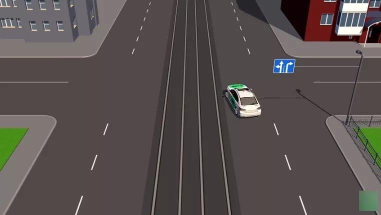 Использование трамвайных путей