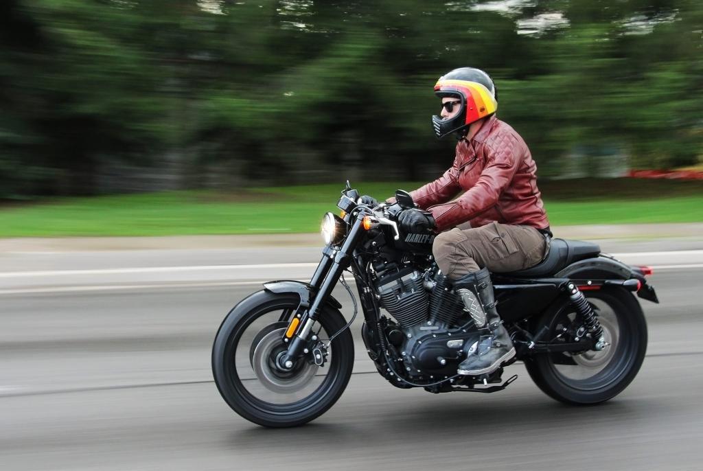 Езда на мотоцикле в 18 лет