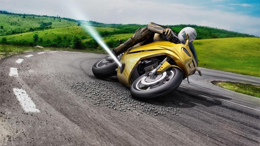 Мотоцикл, для вождения нужна категория A.