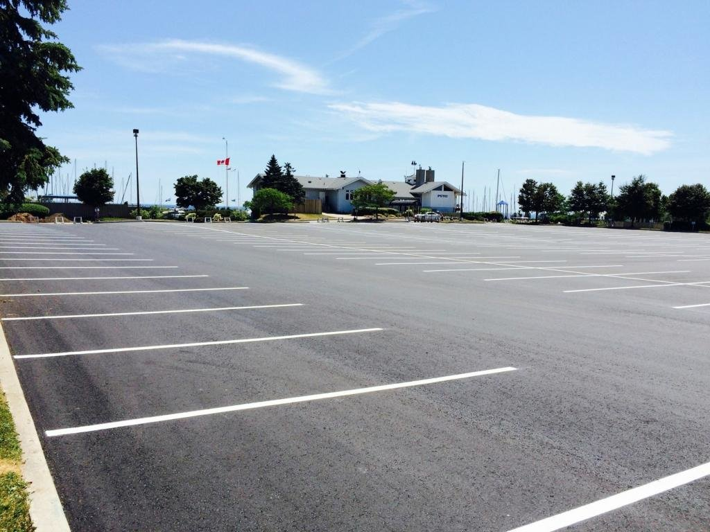 разметка парковки размеры гост