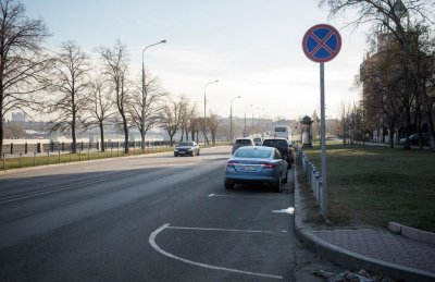 Разметка парковки: правила и стандарты. Размер парковочного места