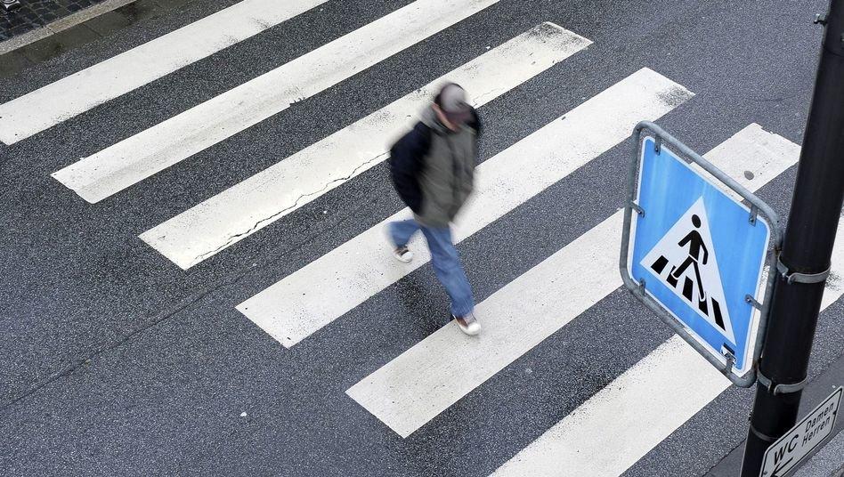 сбит человек на пешеходном переходе