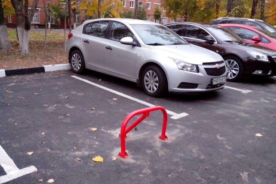 Выделение личного парковочного места