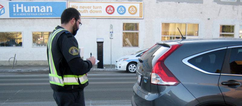 штраф за парковку где знак остановка запрещена