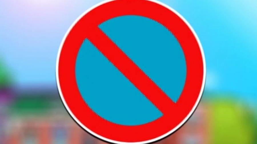 знак парковка запрещена остановка запрещена
