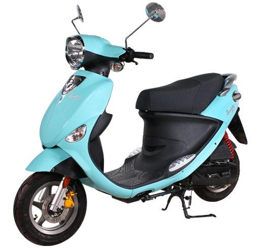 Скутер до 50 кубов и необходимость регистрации