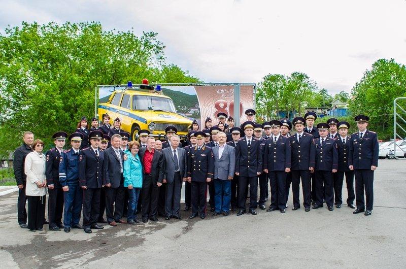 коллектив Управления ГИБДД в Петропавловске-Камчатском