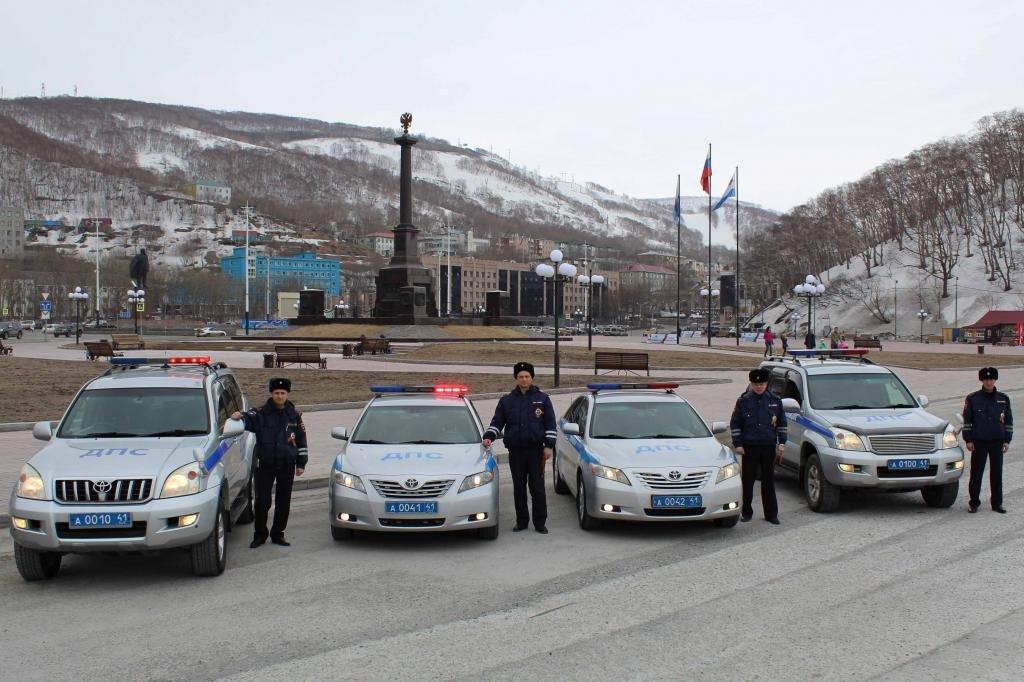 автопарк Управления ГИБДД в г. Петропавловске-Камчатском
