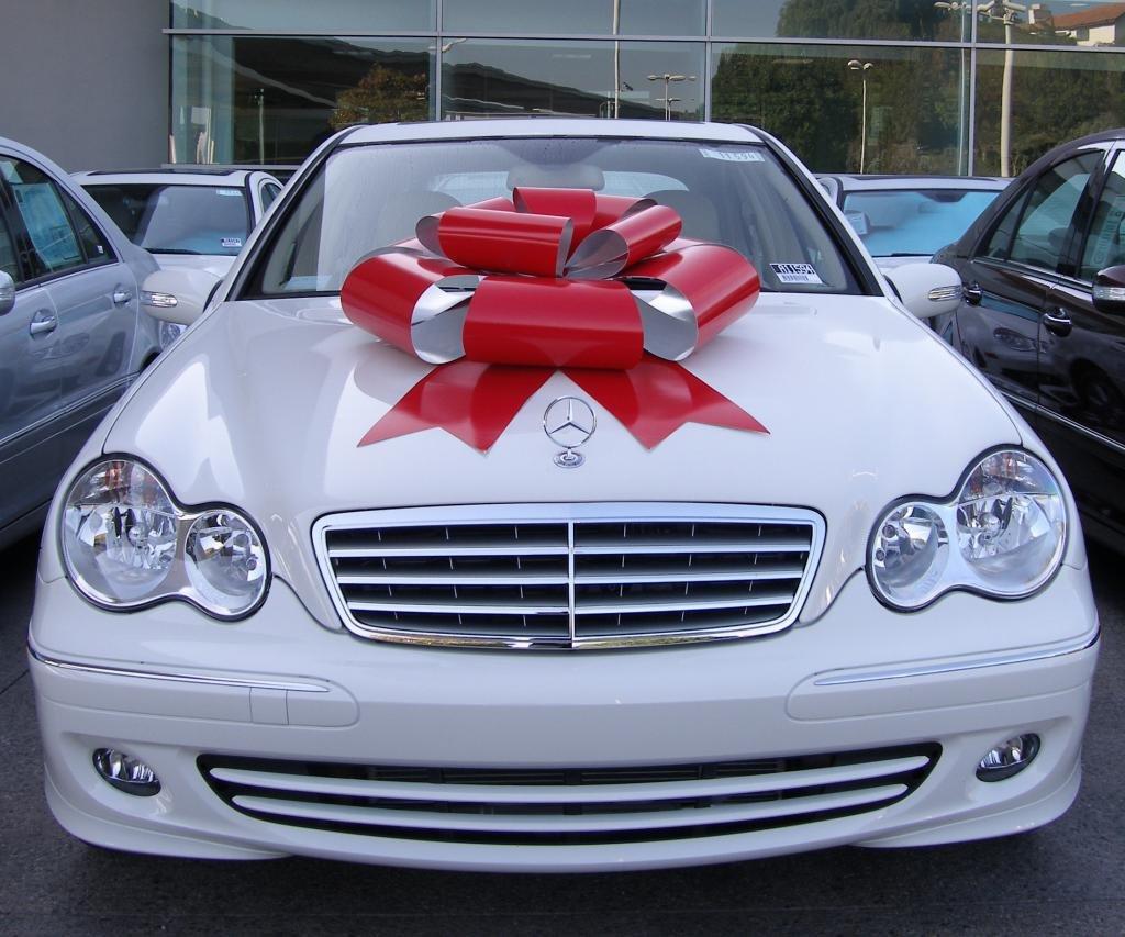 Машина в подарок