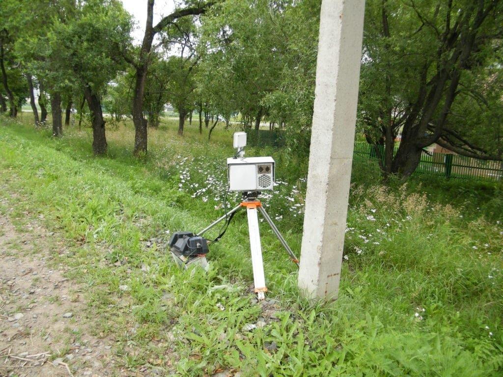 установка радаров на дороге частными лицами