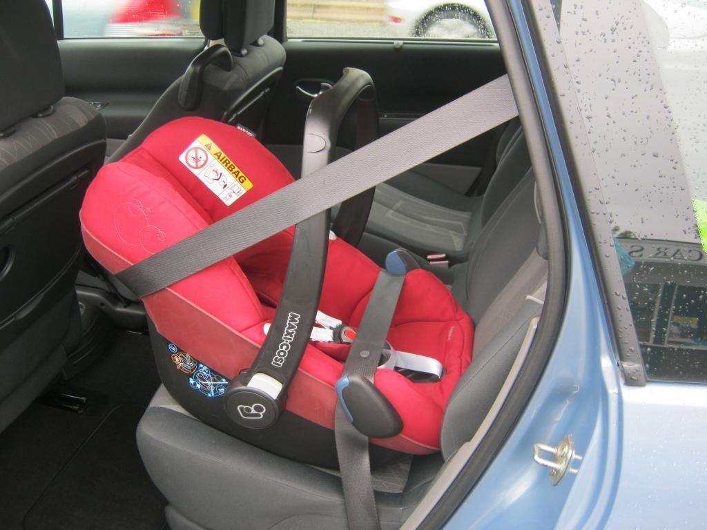как крепить автолюльку в машине